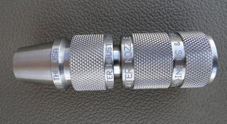 Made from solid 303 stainless steel. * Personalize for gift purposes & Master Water Nozzle Home